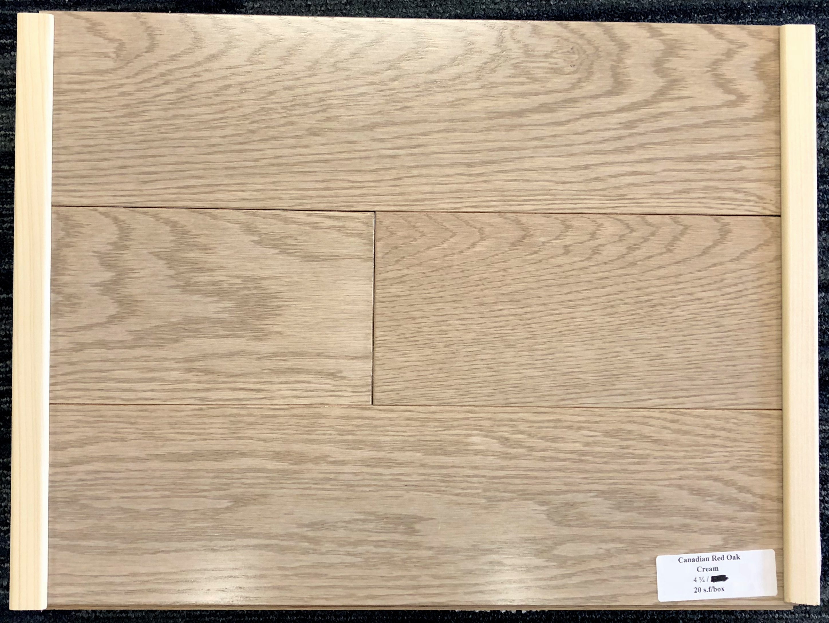 Cream Wickham Red Oak Domestic Hardwood Flooring Image