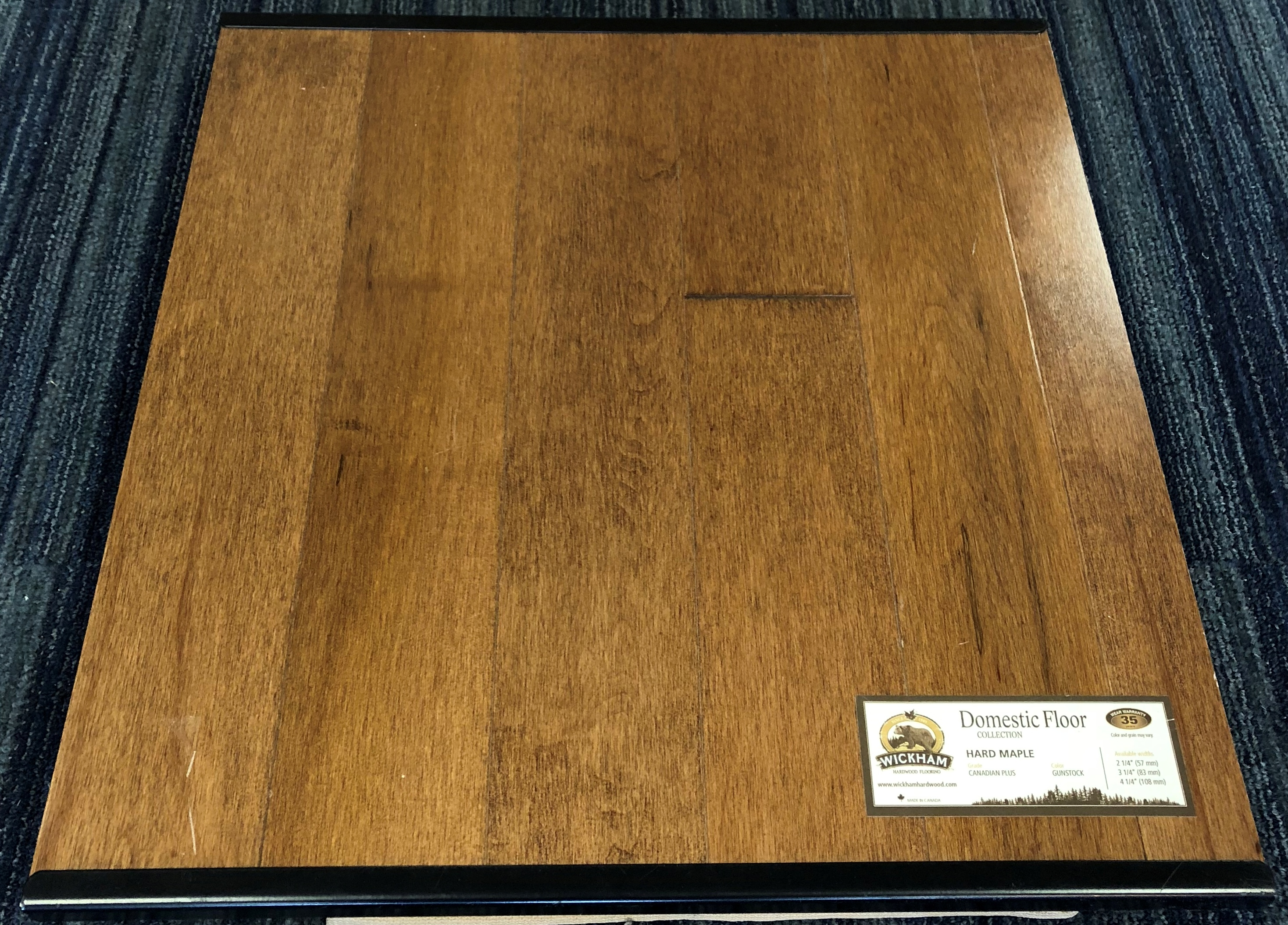 Gunstock Wickham Maple Domestic Hardwood Flooring Image