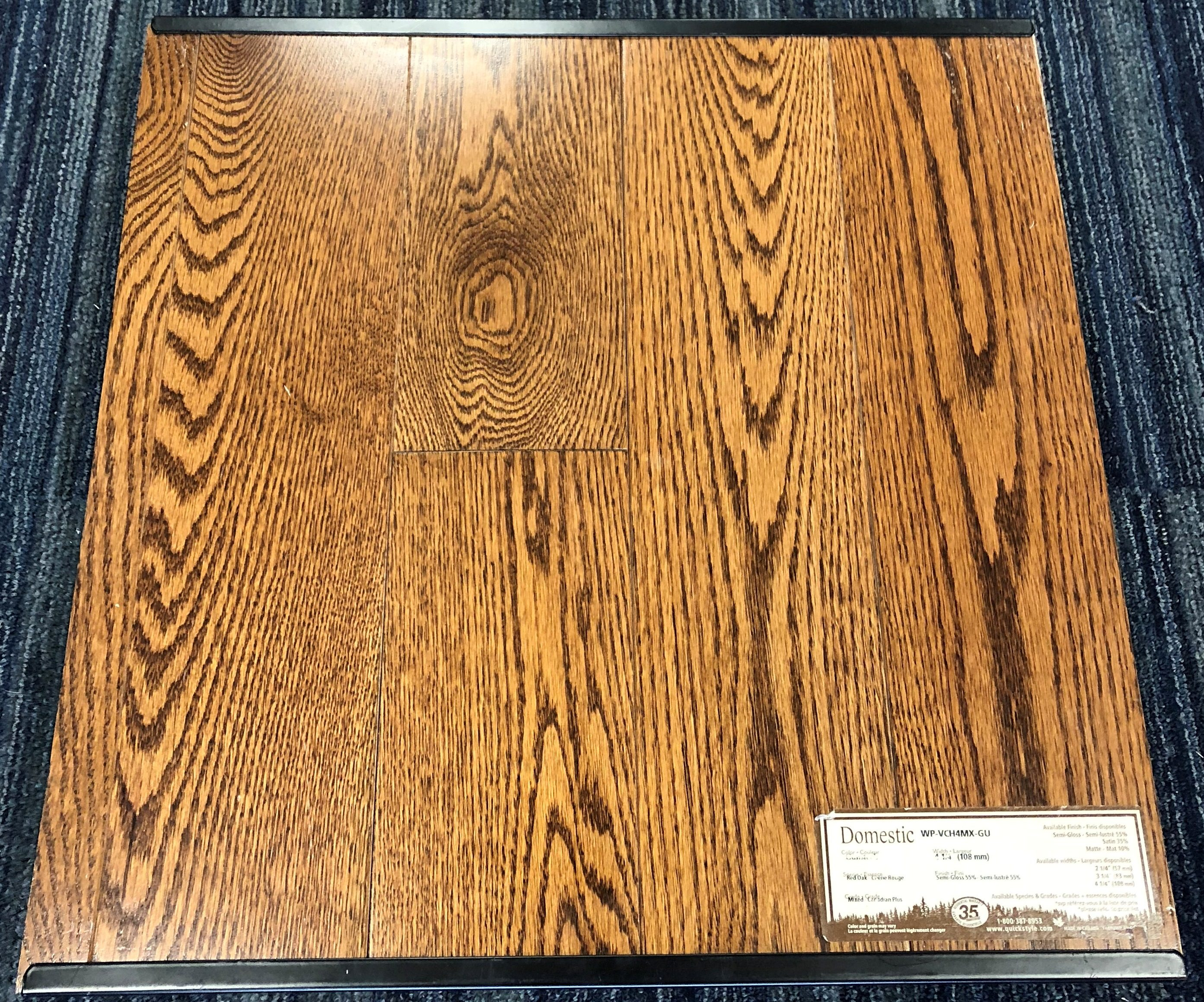 Gunstock Wickham Red Oak Domestic Hardwood Flooring Image