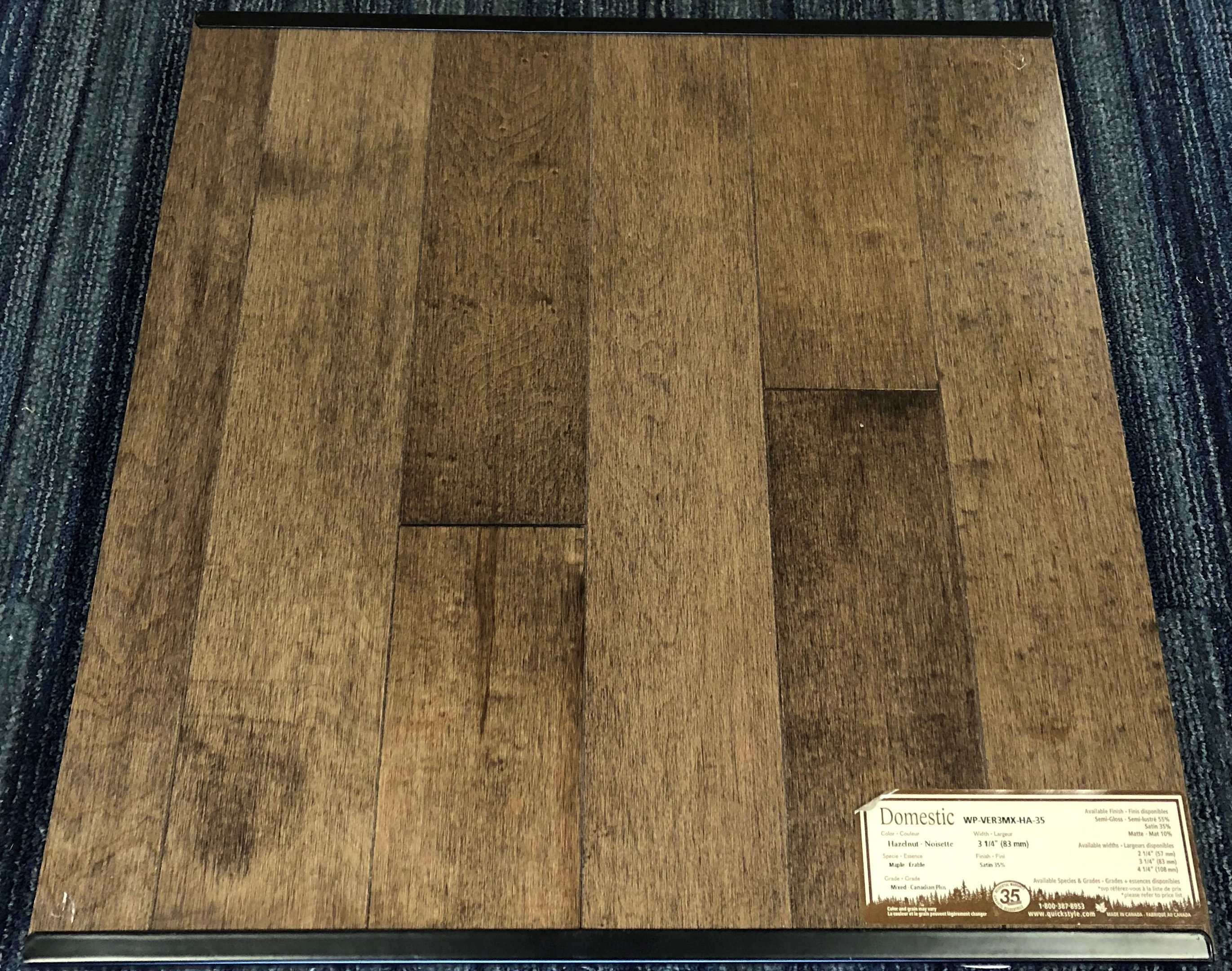 Wickham Hazelnut Maple Domestic Hardwood Flooring Image