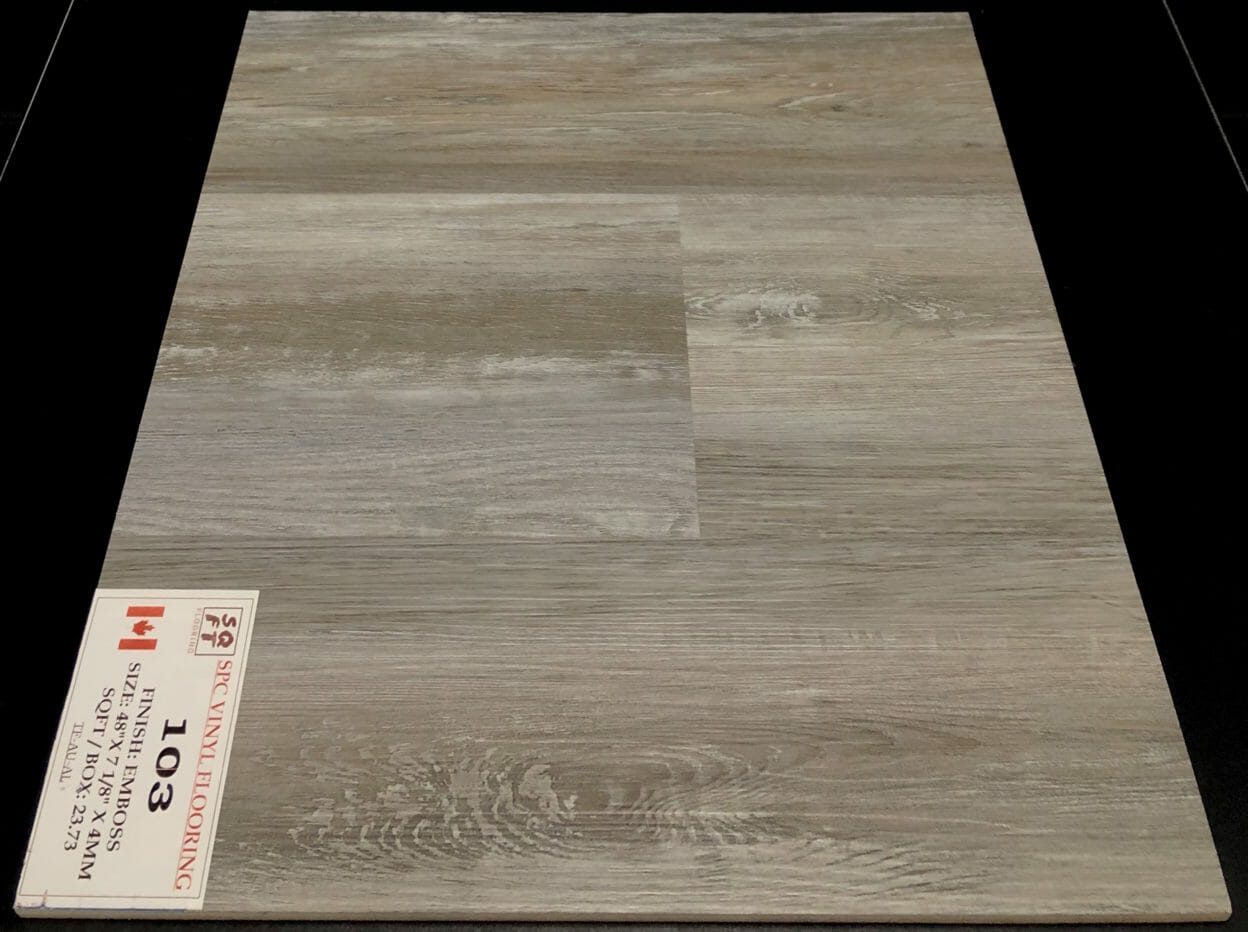 Montebello NAF Aquaplus 4.5mm Vinyl Flooring Rigid Core - Drop Clic - 0.3mm Wear Layer Image