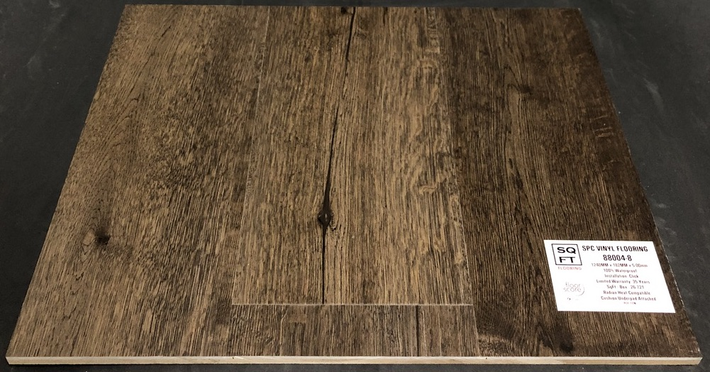 88004-8 - Grandeur 5mm SPC Vinyl Plank Flooring - Underpad Attached Image