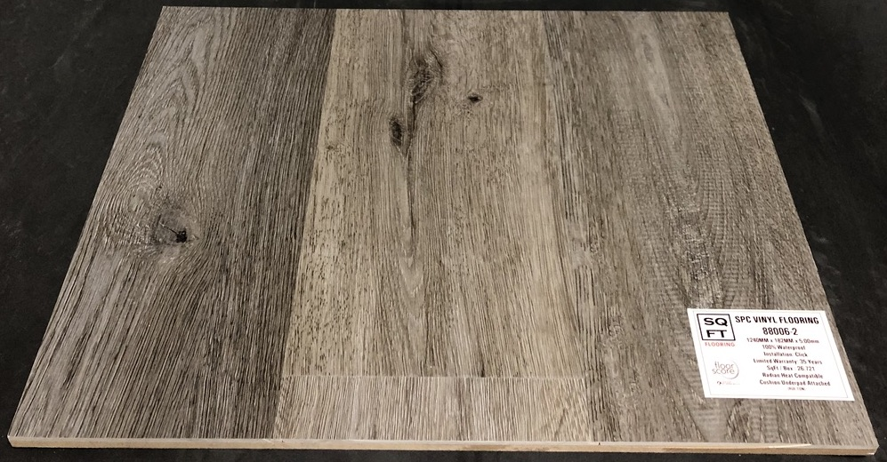 88006-2 - Grandeur 5mm SPC Vinyl Plank Flooring - Underpad Attached Image