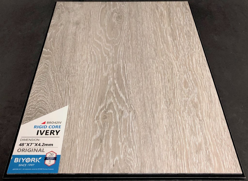 Ivery Biyork 4.2mm SPC Vinyl Flooring Rigid Core