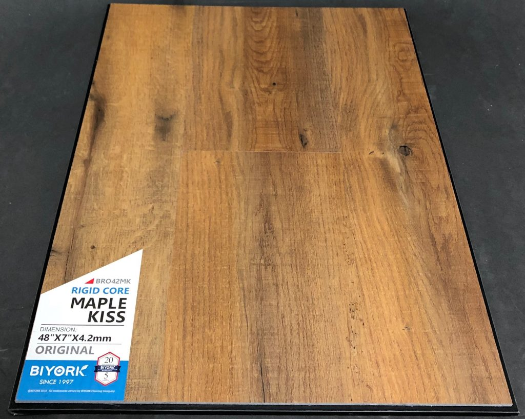 Maple Kiss Biyork 4.2mm SPC Vinyl Flooring Rigid Core