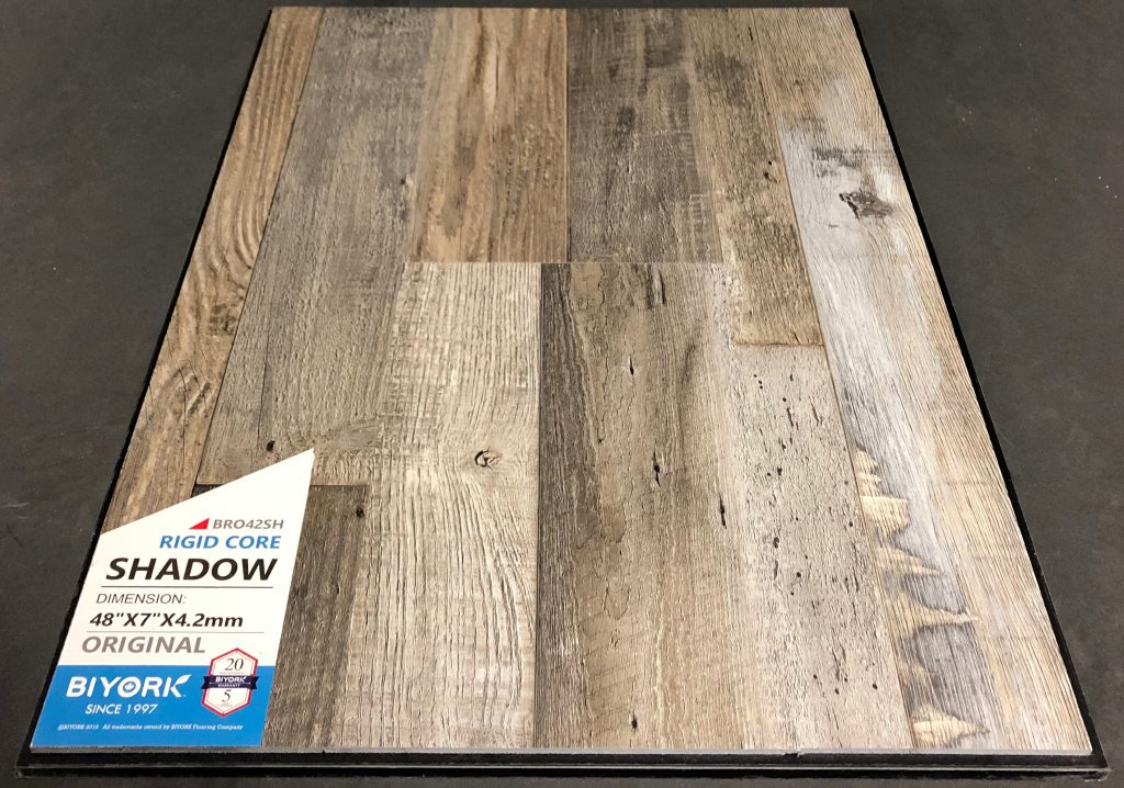 Shadow Biyork 4.2mm SPC Vinyl Flooring Rigid Core