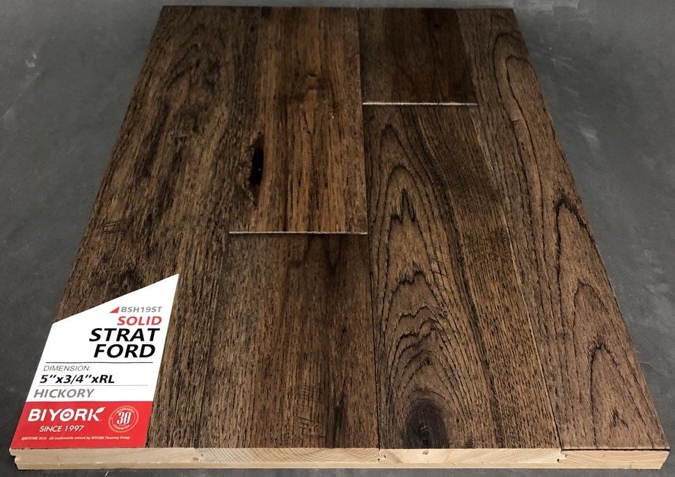 Stratford Biyork Hickory Hardwood Flooring