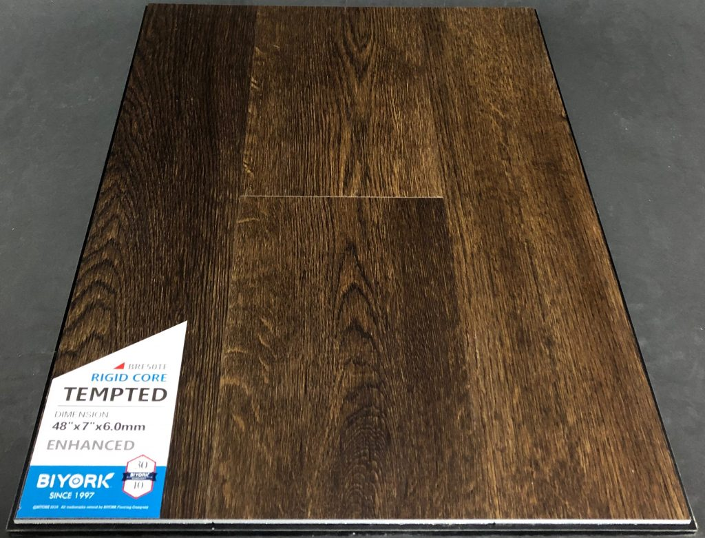 Tempted Biyork 6mm SPC Vinyl Plank Flooring Rigid Core - Enhanced