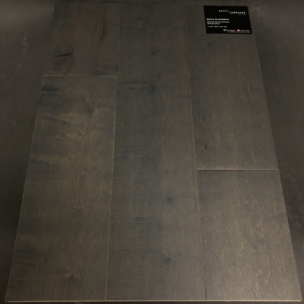 Blacksmith Brand Surfaces Maple Engineered Hardwood Flooring