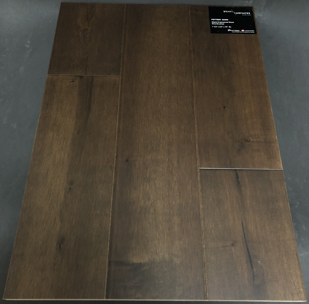 Pottery Barn Brand Surfaces Maple Engineered Hardwood Flooring