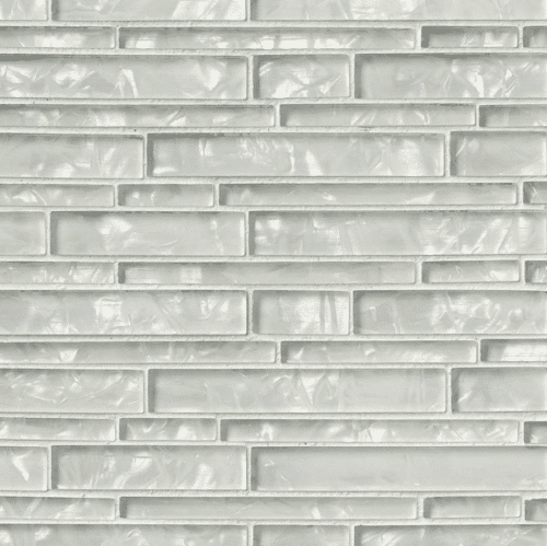 AKOYA INTERLOCKING PATTERN 8MM Crystallized Glass Mosaics