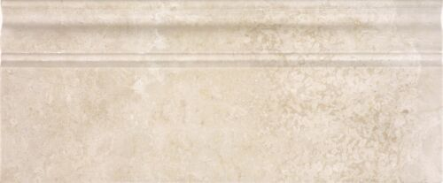 ALLURA CREMA MARBLE 5X12 BASEBOARDS POLISHED 77 388 HONED 77 389