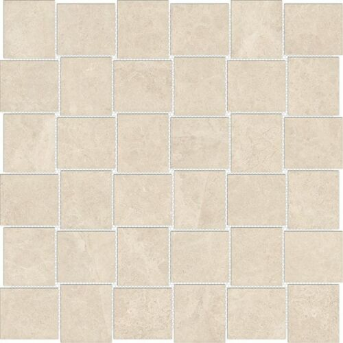 ALLURE IVORY MATTE 69 361 2X2 MAYFAIR BASKETWEAVE PORCELIAN MOSAICS