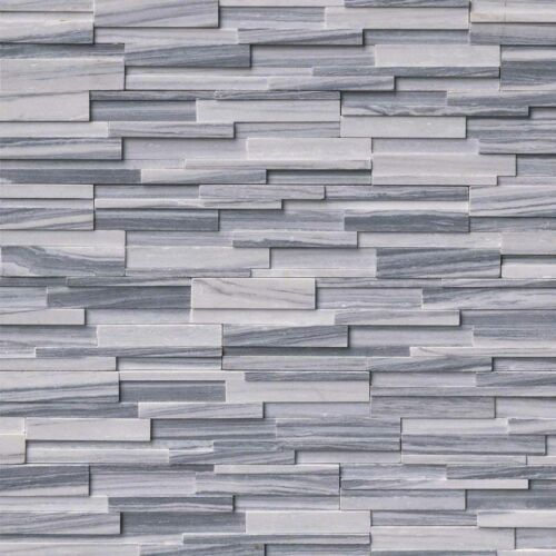 Alaska Gray 3D Honed Stacked Stone Panels Ledgerstone 6x24 1 1