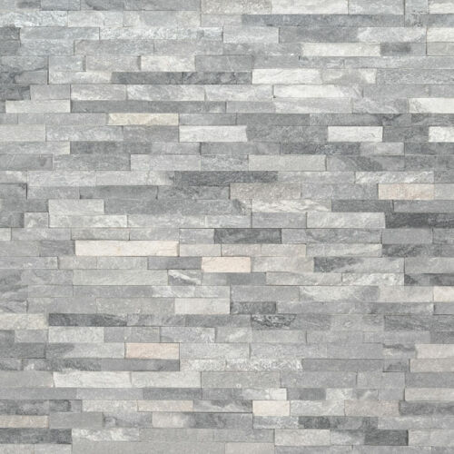 Alaska Gray Mini Stacked Stone Panels Ledgerstone 4.5x16 1