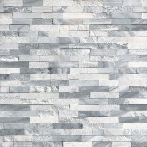 Alaska Gray Multi Finish Stacked Stone Panels Ledgerstone 6x24 1 1