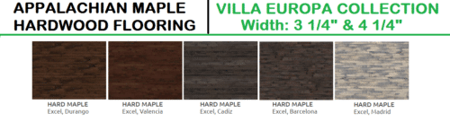 Appalachian Maple Villa Europa Collection Hardwood and Engineered Wood 1 1
