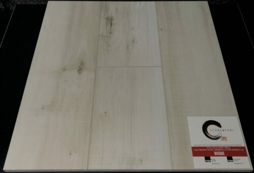 BISQUE 5.2MM STONEWEAR SPC VINYL PLANK FLOORING WITH PAD scaled 1 1