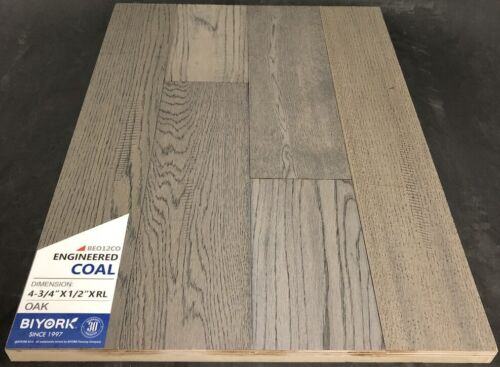 Coal Biyork Oak Engineered Hardwood Flooring Click 1
