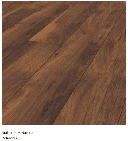 Columbia 12mm Authentic Nature Laminate Flooring 1