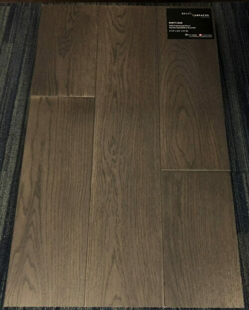 Dusty Lead Brand Surfaces Oak Handscraped Wire Brush Engineered Flooring e1523977226333 scaled 1 1