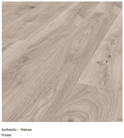 Fraser 12mm Authentic Nature Laminate Flooring 1