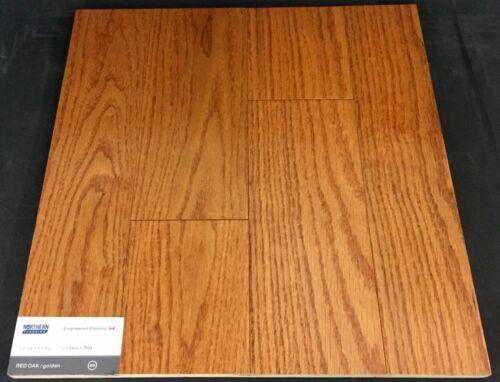 Golden Red Oak Engineered Hardwood Floor 1 1
