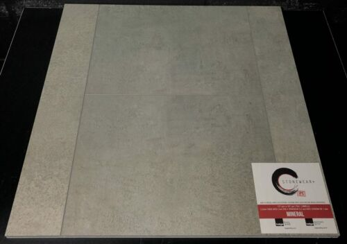 MINERAL 5.2MM STONEWEAR SPC VINYL TILE FLOORING 12X24 WITH PAD scaled 1 1