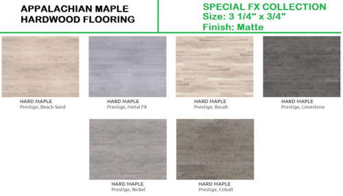 Maple Special FX Appalachian Hardwood Flooring 1