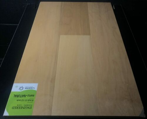NATURAL VIDAR MAPLE ENGINEERED HARDWOOD FLOORING CLICK scaled 1 1