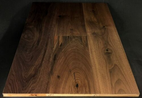 Natural American Black Walnut Engineered Hardwood Flooring 1 1 1