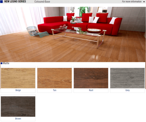 New Legno Series Matte Wood Look Porcelain Tiles Color Beige Tan Rust Grey Brown Size 6x24 1 1
