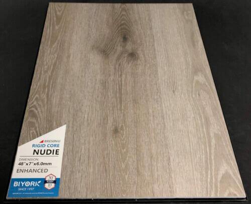 Nudie 6mm Biyork SPC Vinyl Flooring Rigid Core Enhanced 1 1