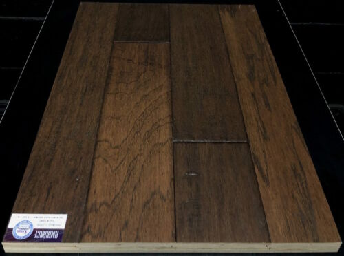 RUST BROWN 12045 AMBIANCE HICKORY ENGINEERED HARDWOOD FLOORING 1