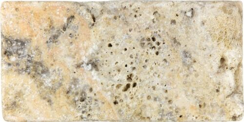 SCABOS 73 038 3X6 TUMBLED TRAVERTINE TILE