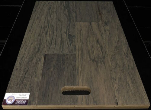 STEEL GREY 12148 AMBIANCE HICKORY ENGINEERED HARDWOOD FLOORING 1 1