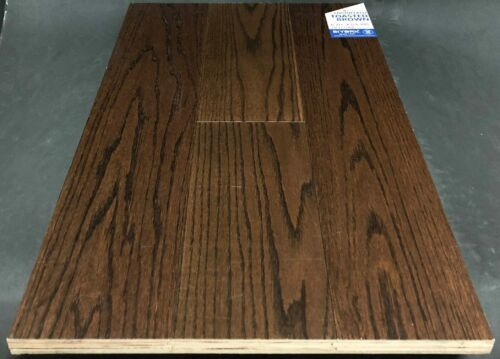 Toasted Brown Biyork Red Oak Engineered Hardwood Flooring scaled 1 1