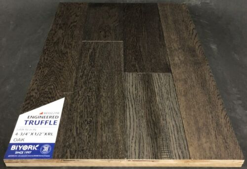 Truffle Biyork Oak Engineered Hardwood Flooring Click 1